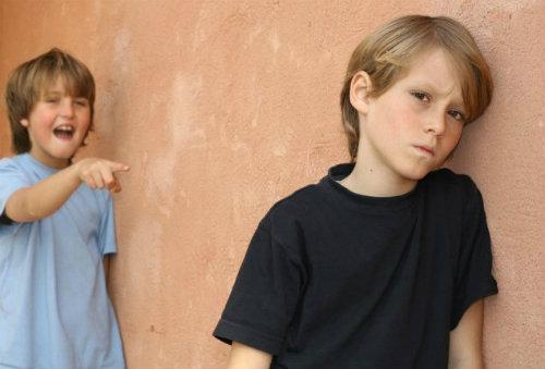 teens beign bullied