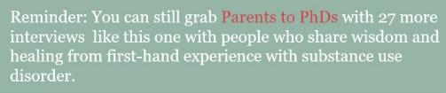 Parents to PhDs